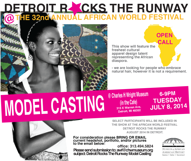 DETROIT ROCKS THE RUNWAY HOLDS OPEN CASTING CALL FOR ...