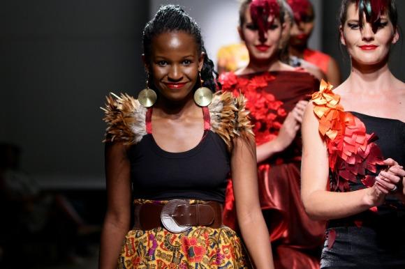 Celebrated South Africa-based Zimbabwen designer Rumbie Madzivanyika Muzofa